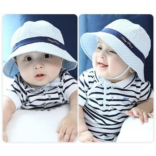 mũ vành bé trai bé gái