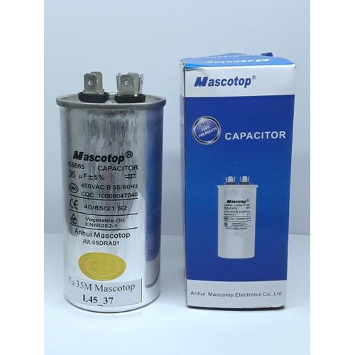 Tụ Mascotop CBB65 40mF, 5 Dùng cho điều hòa
