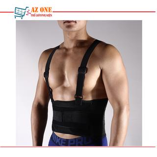 Đai Quấn Có Quai Đeo Bảo Vệ Sống Lưng Khi Chơi Thể Thao, Tập Gym - Đai Bảo Hộ Tập Gym thumbnail