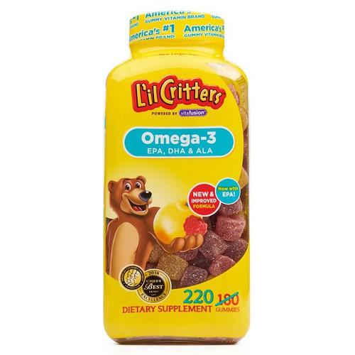 Kẹo Bổ Sung Vitamin Omega-3 Cho Bé