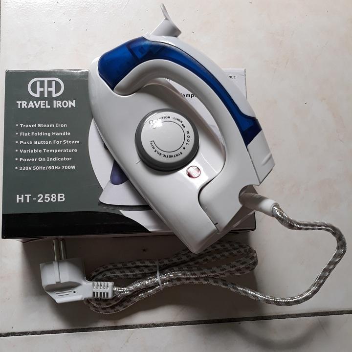 Bàn ủi hơi nước du lịch mini Travel Iron HT-258B 1