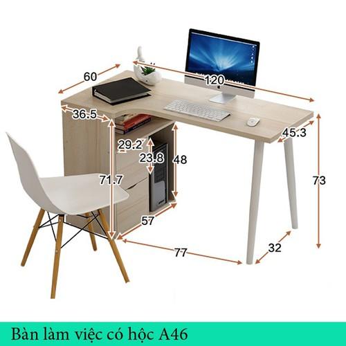 bàn học tiện dụng - bàn làm việc đa năng - bàn làm việc có hộc