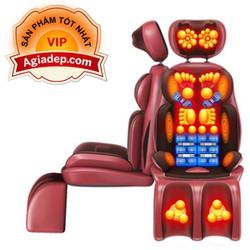 Ghế Massage Thư giãn Trị liệu Hồng ngoại + Xoa bóp chân VIP