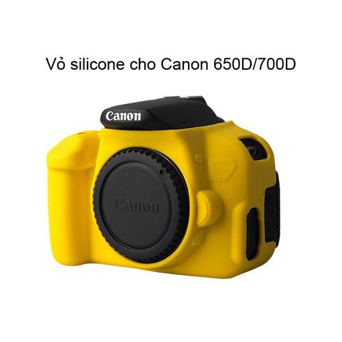 Vỏ cao su cho máy ảnh Canon 650D 700D