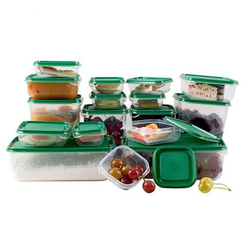 Bộ 17 hộp nhựa đựng thực phẩm tiện dụng