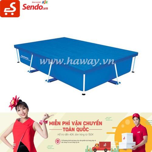 Vải bạt phủ dành cho Bể bơi 259cm x 170cm x 61cm - Bestway 58105