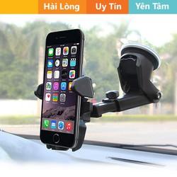 Giá ưu đãi - Kẹp điện thoại trên ô tô hoặc để bàn bám hút cực chắc