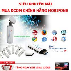 USB 3G MOBI HÀNG CHUẨN, ĐA MẠNG,TẶNG SIM 4G
