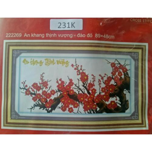tranh thêu cành đào kt 89 x 48 - 4323265 , 10521672 , 15_10521672 , 115500 , tranh-theu-canh-dao-kt-89-x-48-15_10521672 , sendo.vn , tranh thêu cành đào kt 89 x 48