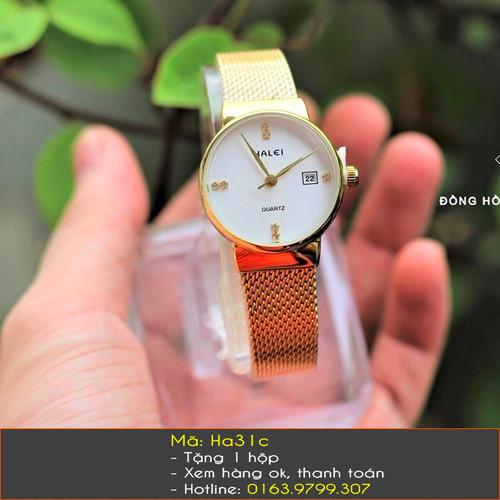 Đồng hồ nữ Halei dây lưới thời trang - 4320454 , 10518317 , 15_10518317 , 800000 , Dong-ho-nu-Halei-day-luoi-thoi-trang-15_10518317 , sendo.vn , Đồng hồ nữ Halei dây lưới thời trang