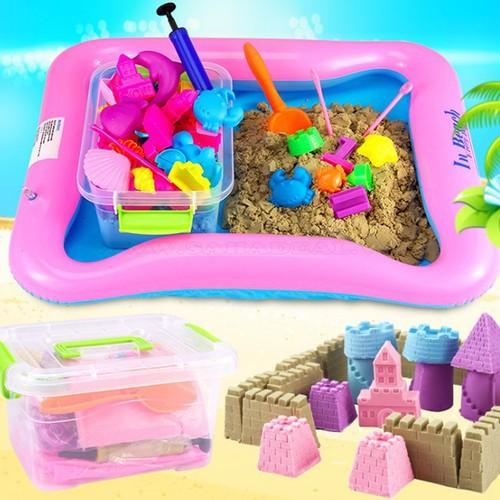 Đồ chơi cát nặn và khuôn cho bé