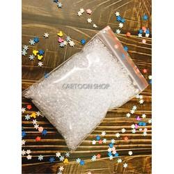 Bịch 100g hạt đường phụ kiện trang trí slime