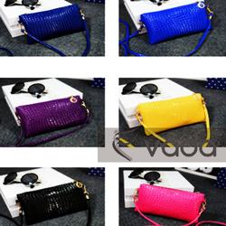 Túi Da Hàn Quốc nhiều Màu Có Dây Đeo