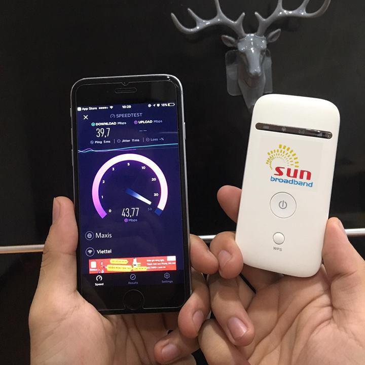 Phát Wifi SUN Tiêu Chuẩn Châu Âu từ Sim Tốc Độ Siêu Nhanh 1
