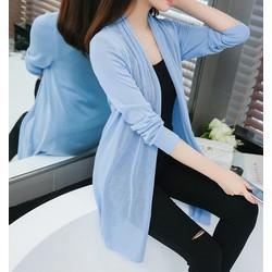 Áo len dáng dài nữ