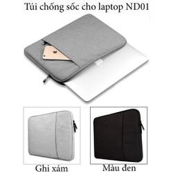 Túi chống sốc bảo vệ laptop mã ND01