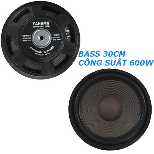 Cặp bass loa 3 tấc amaha 1201d - đen