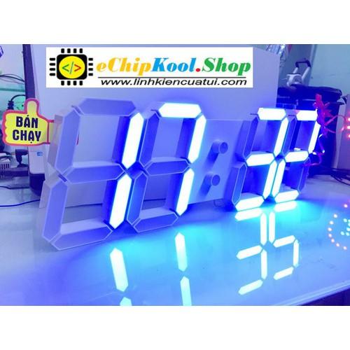 Đồng hồ led treo tường 3D Blue - 4330473 , 10531959 , 15_10531959 , 1990000 , Dong-ho-led-treo-tuong-3D-Blue-15_10531959 , sendo.vn , Đồng hồ led treo tường 3D Blue