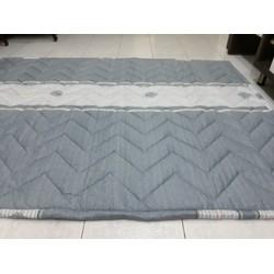 Nệm trải sàn kiêm đệm trải giường kiểu Nhật cotton lụa loại 1