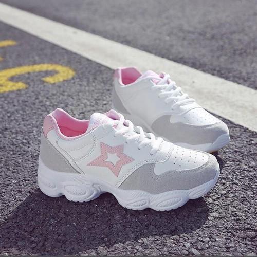Giày thể thao nữ, giày sneaker nữ  _ Màu hồng _ GTT010 - 4333711 , 10536892 , 15_10536892 , 395000 , Giay-the-thao-nu-giay-sneaker-nu-_-Mau-hong-_-GTT010-15_10536892 , sendo.vn , Giày thể thao nữ, giày sneaker nữ  _ Màu hồng _ GTT010