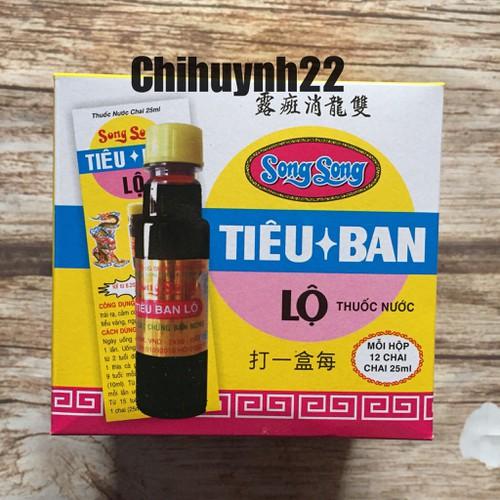 Tiêu ban lộ Song Long 12 chai - 4330830 , 10532504 , 15_10532504 , 118000 , Tieu-ban-lo-Song-Long-12-chai-15_10532504 , sendo.vn , Tiêu ban lộ Song Long 12 chai