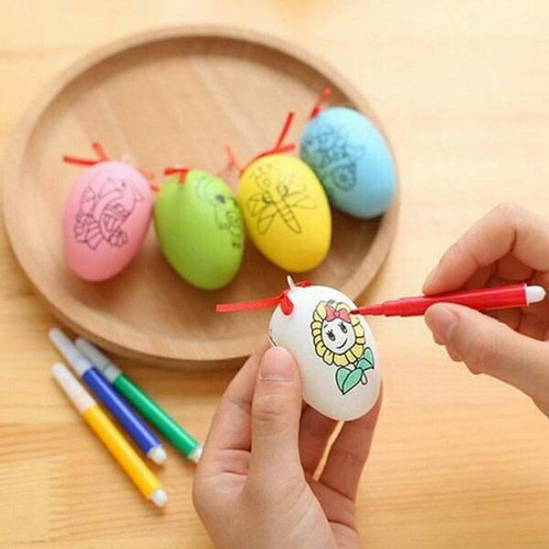 Combo 10 trứng tô màu tặng kèm bút màu - Shop Bé Điệu 2018