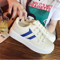 Giày thể thao nữ độn đế, giày sneaker nữ  _ Màu Xanh _ GTT014