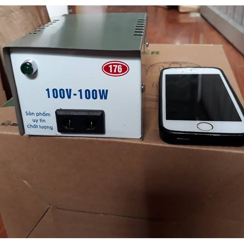 Bộ đổi điện 220v- 100v và 110v.công suất 100w.lõi đồng