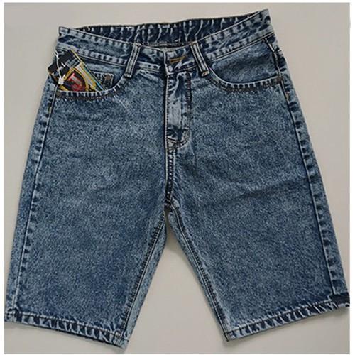 Quần Short Jeans Nam Xám Lông Chuột_GS100 - 2886