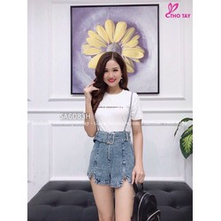 SHOP NY NY - Sét áo thun Kèm yếm quần jean