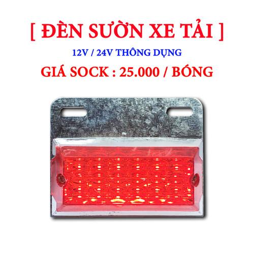 Đèn sườn xe tải mẫu 01 - 24v