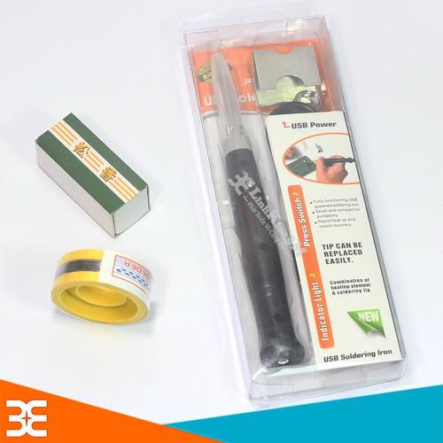 Mỏ Hàn USB 5V-8W Tặng 01 Thiếc Sunchi và 01 Hộp Nhựa Thông - 4336885 , 10540949 , 15_10540949 , 134990 , Mo-Han-USB-5V-8W-Tang-01-Thiec-Sunchi-va-01-Hop-Nhua-Thong-15_10540949 , sendo.vn , Mỏ Hàn USB 5V-8W Tặng 01 Thiếc Sunchi và 01 Hộp Nhựa Thông