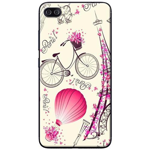 Ốp lưng nhựa dẻo Asus Zenfone 4 Max Pro ZC554KL Paris hồng