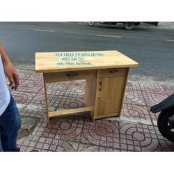 Bàn làm việc gỗ thông 100cm giá rẻ nhất HCM - vận chuyển các quận HCM
