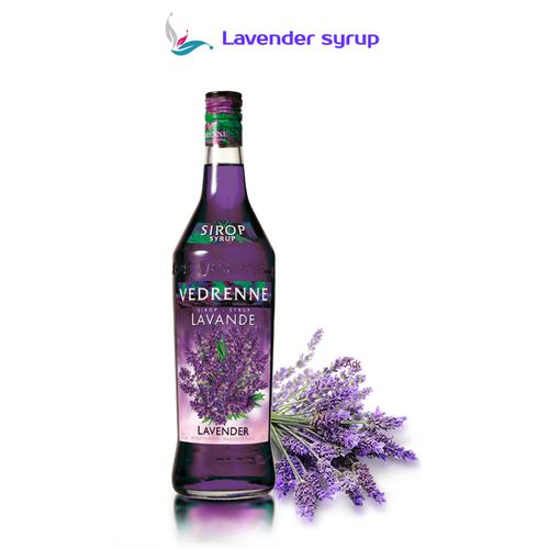 Syrup Vedrenne Hoa Lavender