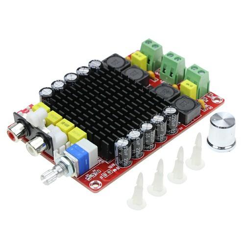 Mạch khuếch đại âm thanh class D 2x100W TDA7498 - 4334812 , 10538438 , 15_10538438 , 205000 , Mach-khuech-dai-am-thanh-class-D-2x100W-TDA7498-15_10538438 , sendo.vn , Mạch khuếch đại âm thanh class D 2x100W TDA7498
