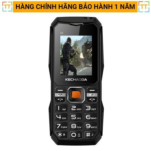 Điện thoại kechaoda k6 số to, loa khỏe ,pin dùng 1 tuần