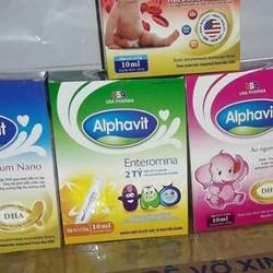 thực phẩm chức năng hỗ trợ tiêu hóa Alphavit Enteromina