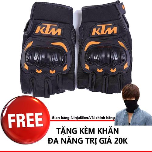 Găng tay KTM ngắn ngón tặng khăn đa nặng - 4337251 , 10541338 , 15_10541338 , 150000 , Gang-tay-KTM-ngan-ngon-tang-khan-da-nang-15_10541338 , sendo.vn , Găng tay KTM ngắn ngón tặng khăn đa nặng