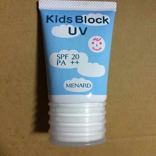 KEM CHỐNG NẮNG CHO TRẺ EM KIDS BLOCK UV MENARD