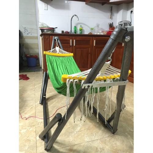 bộ võng dành cho bé bao gồm lưới võng