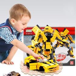 Đồ chơi Lắp Ráp Robot Biến Hình Xe Ô Tô