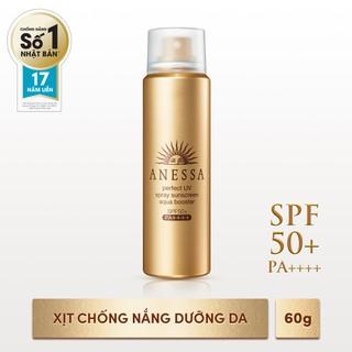Xịt chống nắng bảo vệ hoàn hảo Anessa Perfect UV SPF50+, PA++++ 60g - 4901872083220 thumbnail