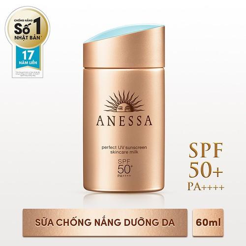 [Tặng ngay Sữa chống nắng bảo vệ hoàn hảo Anessa Perfect UV Sunscreen Skincare Milk 12ml] Sữa chống nắng bảo vệ hoàn hảo Anessa Perfect UV SPF 50+, PA++++ 60ml - 4338162 , 10542228 , 15_10542228 , 625000 , Tang-ngay-Sua-chong-nang-bao-ve-hoan-hao-Anessa-Perfect-UV-Sunscreen-Skincare-Milk-12ml-Sua-chong-nang-bao-ve-hoan-hao-Anessa-Perfect-UV-SPF-50-PA-60ml-15_10542228 , sendo.vn , [Tặng ngay Sữa chống nắng bảo