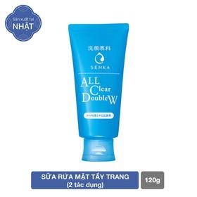 Sữa Rửa Mặt Tẩy Trang 2 Tác Dụng Senka All Clear Double Wash 120g - 4901872462032