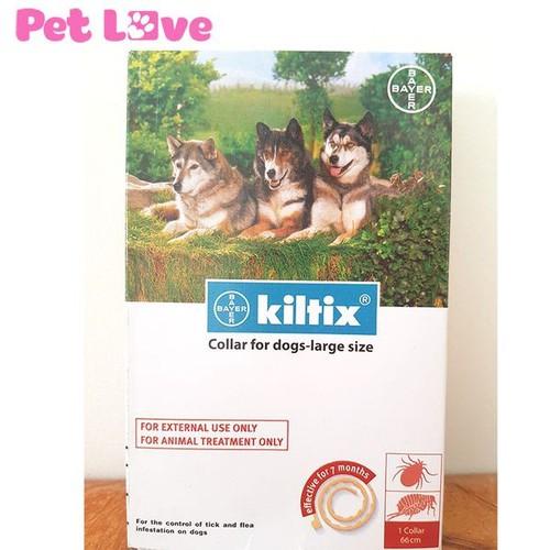 Vòng đeo cổ Bayer Kiltix trị ve, bọ chét cho chó trên 20kg - 10730373 , 10917631 , 15_10917631 , 250000 , Vong-deo-co-Bayer-Kiltix-tri-ve-bo-chet-cho-cho-tren-20kg-15_10917631 , sendo.vn , Vòng đeo cổ Bayer Kiltix trị ve, bọ chét cho chó trên 20kg