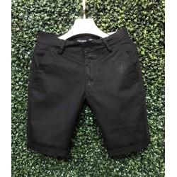 Quần shorts Kaki Hàn Quốc-QK1.6_Sp có bảo hành-Màu Đen