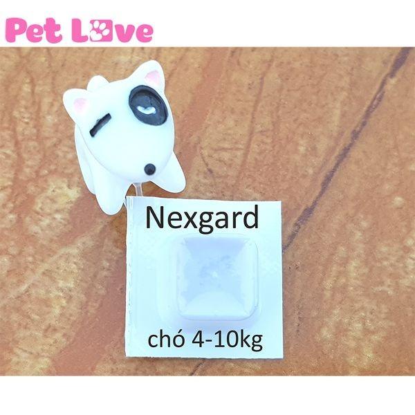Hộp thuốc NexGard trị ve 4-10kg