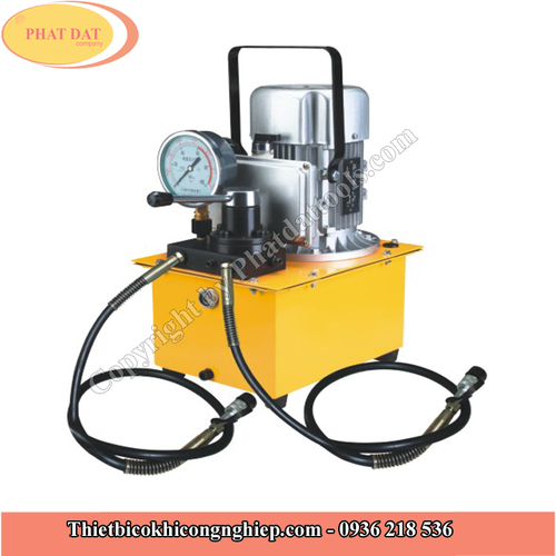 Bơm điện thủy lực DYB63F3 2 vòi 750w 7 lít