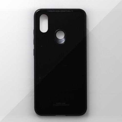 Ốp lưng Xiaomi Mi 8 viền dẻo đen
